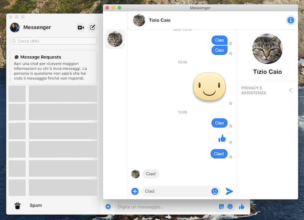 Spam Messenger macOS