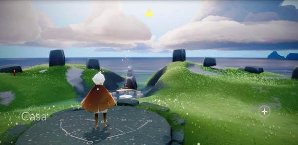 Gameplay di Sky - Figli della Luce
