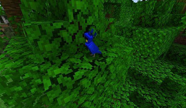Pappagallo su Minecraft