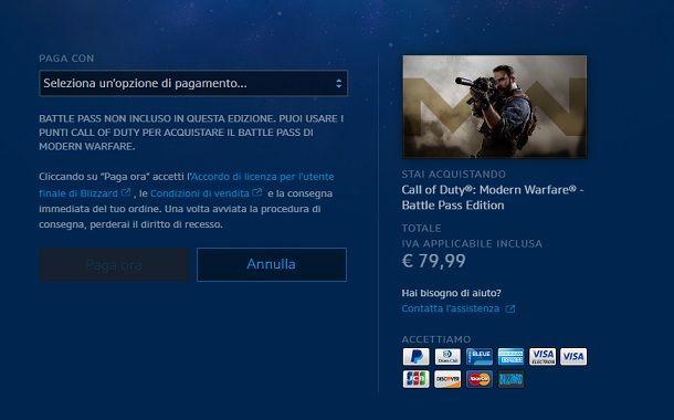Come installare Call of Duty Modern Warfare PC