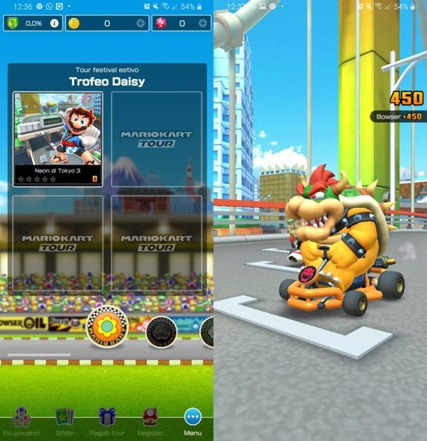Gara a Mario Kart Tour