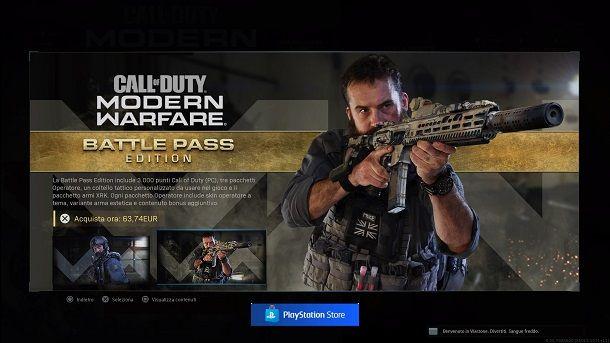 Edizioni Call of Duty Modern Warfare PS4