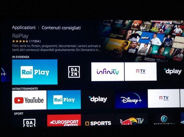 Come associare RaiPlay alla TV