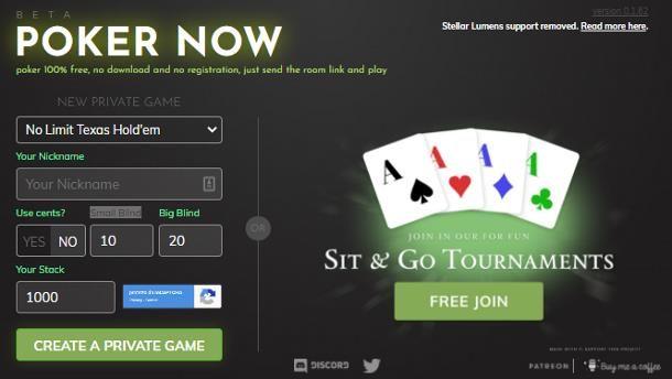 Siti per giocare a poker con amici