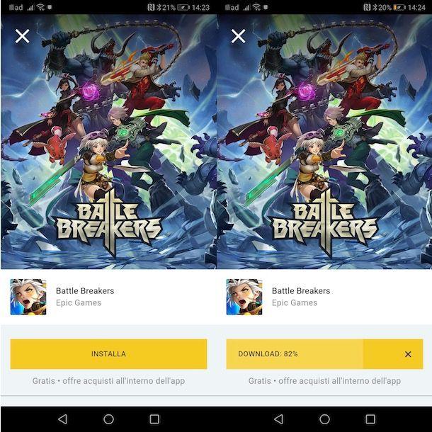 Come scaricare Battle Breakers su Android