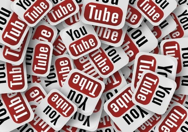 Tanti loghi YouTube