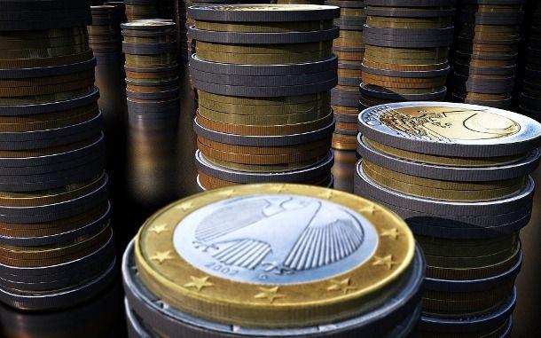 Tanti euro uno sopra all'altro