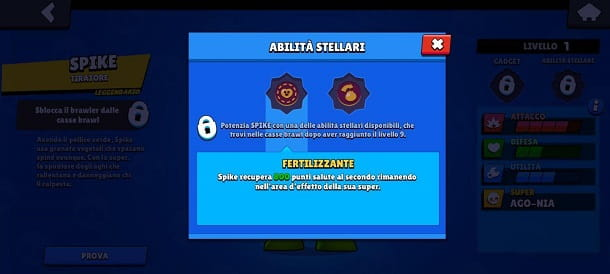 Fertilizzante Spike Brawl Stars