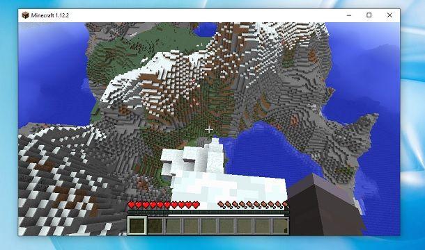 Altezza Minecraft
