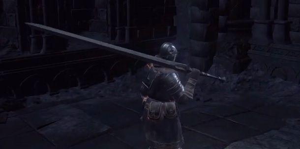 Spadone di Astora Dark Souls 3