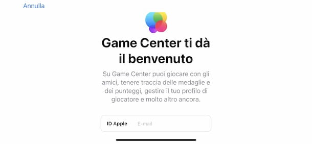 Accedere a Brawl Stars con Game Center