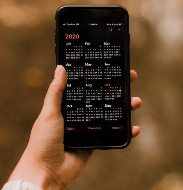 Calendario iPhone