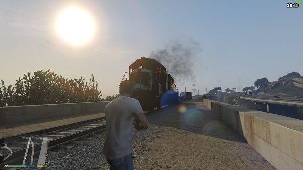 Distruggere treno GTA 5