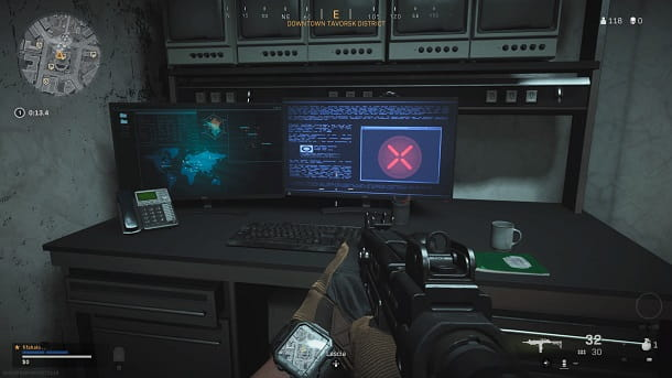 Computer COD Warzone enigma