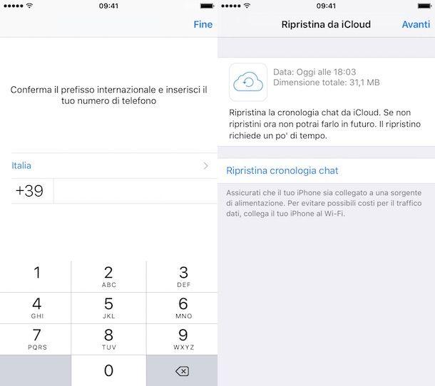 ripristinare messaggi eliminati whatsapp su iphone