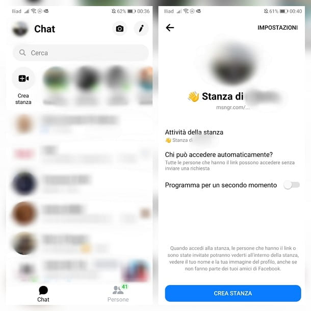 Come fare una video chiamata su Messenger da smartphone e tablet