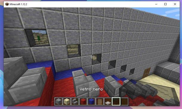 Vetro nero Minecraft