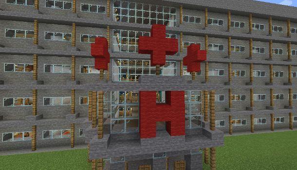 Come fare un ospedale su Minecraft