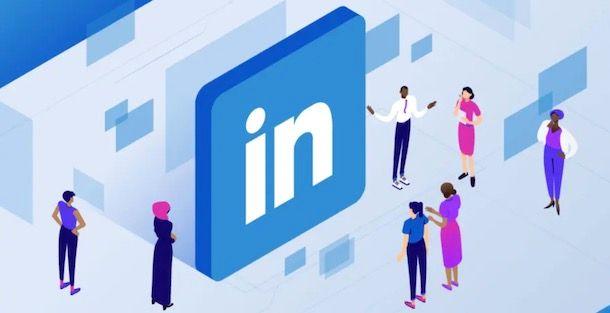 Logo di LinkedIn