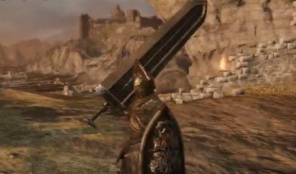 Spada Nera della Cripta Dark Souls 2