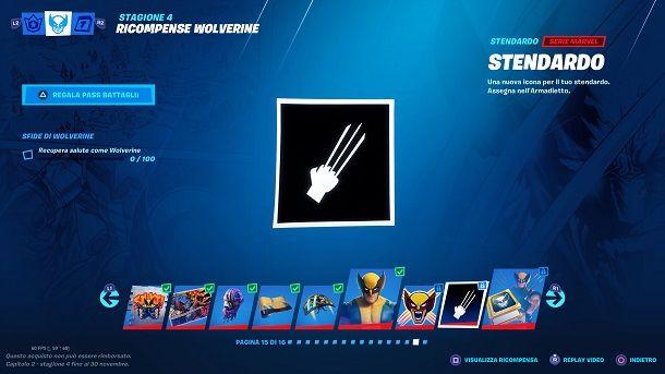 Sfida extra Wolverine Fortnite