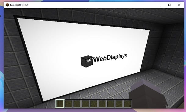 Display acceso Minecraft