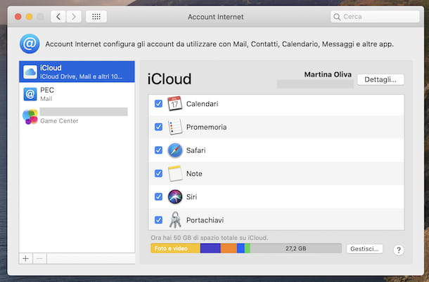 Sincronizzazione note macOS