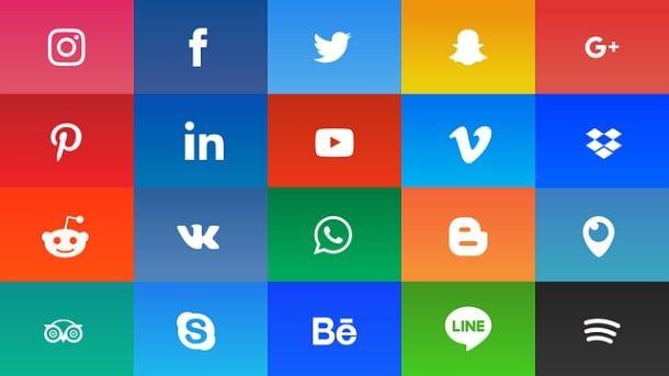 Loghi dei social network