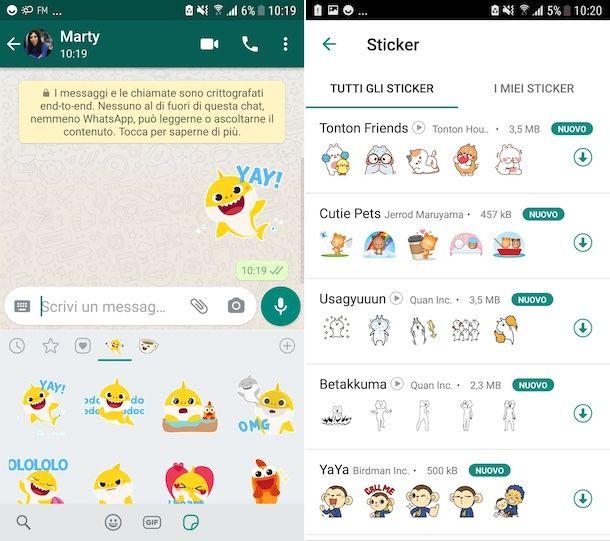 Sticker WhatsApp Android