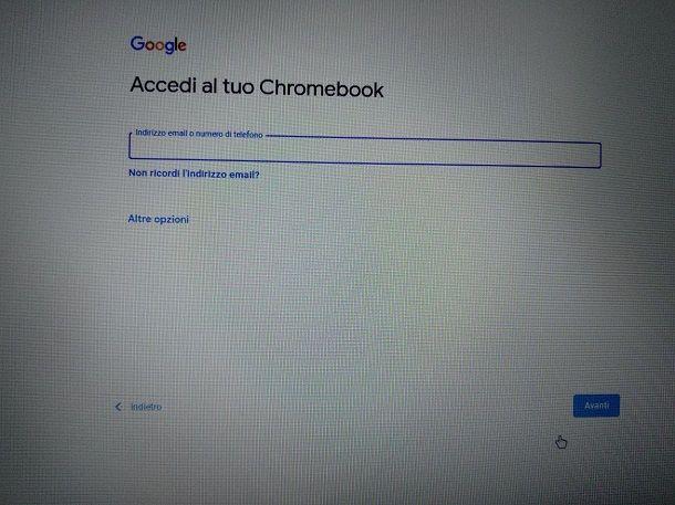 Installare Chrome OS su PC ed eseguire da chiavetta USB