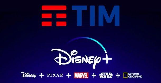 TIM e Disney \+
