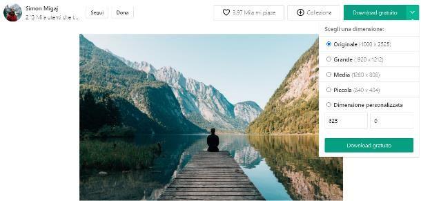 Come trovare immagini senza copyright su Pexels