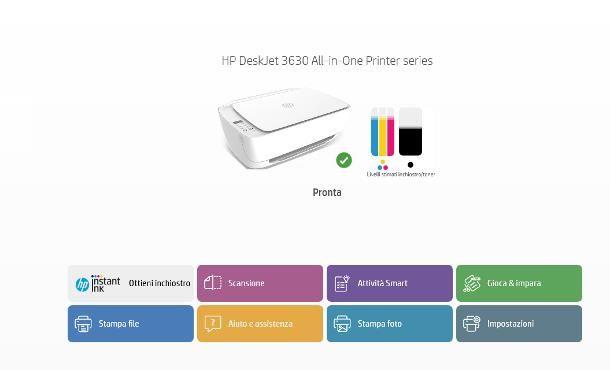 Come collegare stampante HP al WiFi