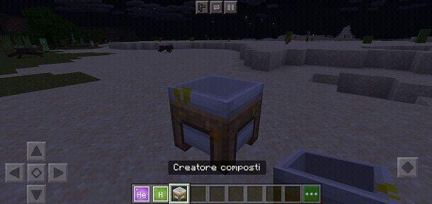 Creatore di composti Minecraft