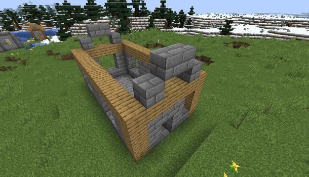 Costruire casa medievale