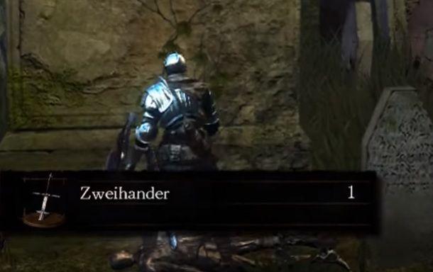 Come trovare Zweihander Dark Souls