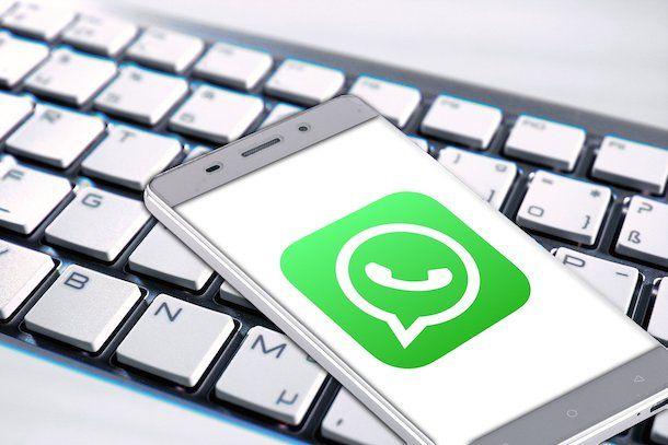 WhatsApp e tastiera