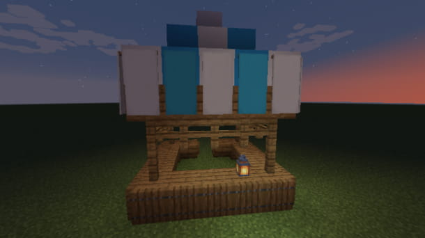 Costruire un mercato su Minecraft