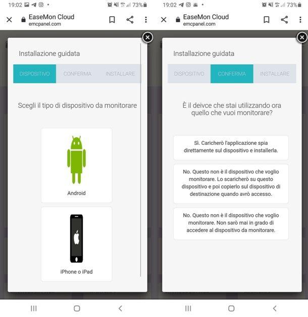 ikeymonitor su Android