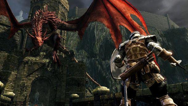 Viverna Rossa Dark Souls
