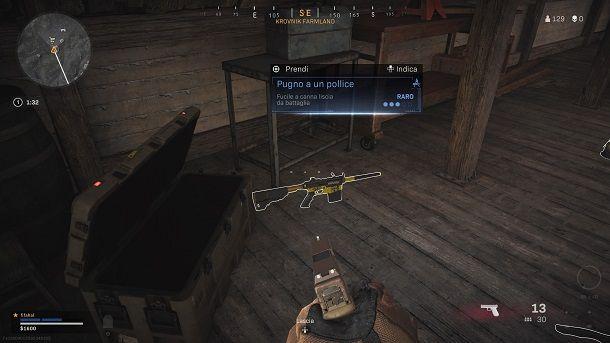 Trovare armi COD Warzone