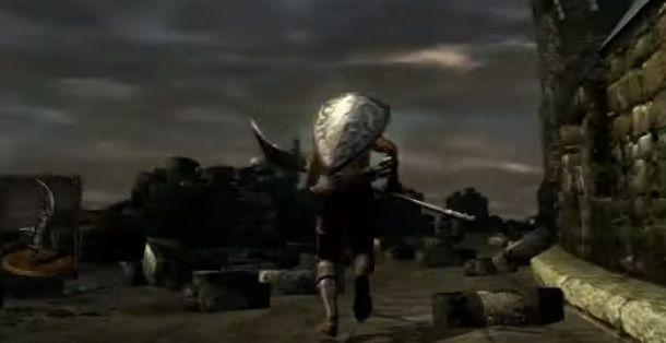 Alabarda del cavaliere nero Dark Souls