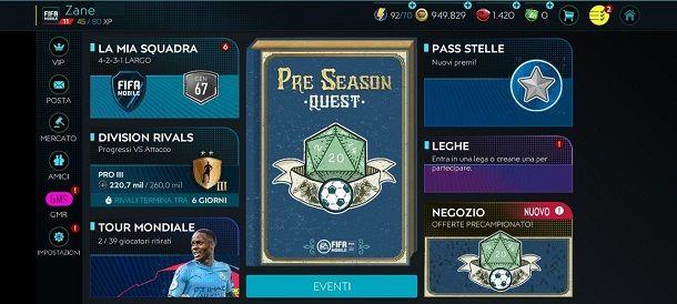 Come giocare online su FIFA Mobile