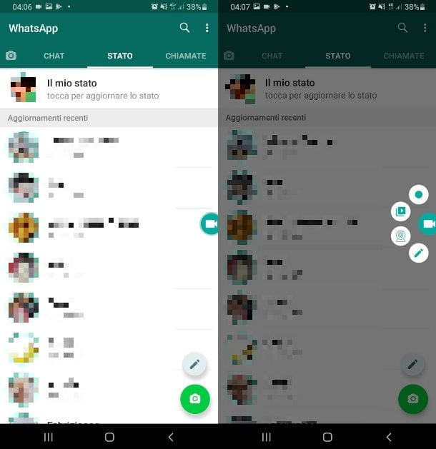 ADV Registratore video per WhatsApp
