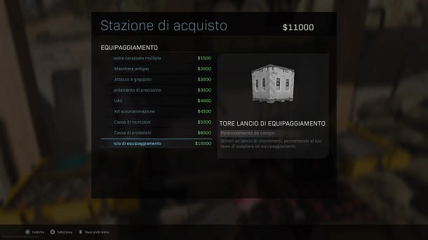 Stazione di acquisto COD Warzone