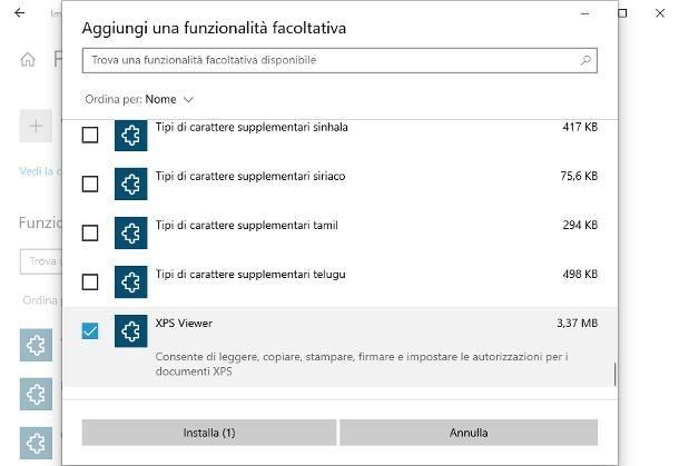 Come aprire file XPS su Windows