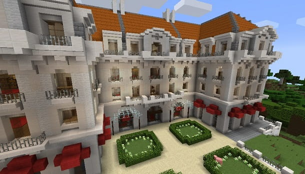 Hotel su Minecraft