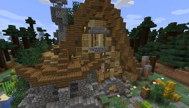 Casa medievale con ISM