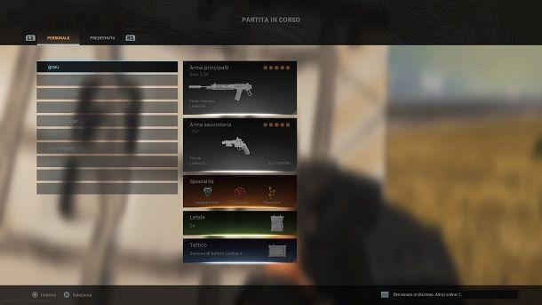 Lancio di equipaggiamento Call of Duty Warzone