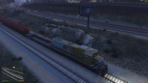Fermare treno GTA 5